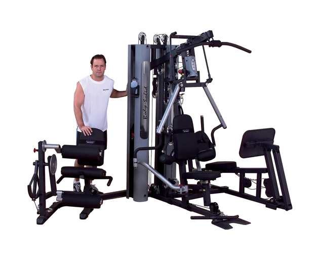 Multi station home gym equipment commercial stations