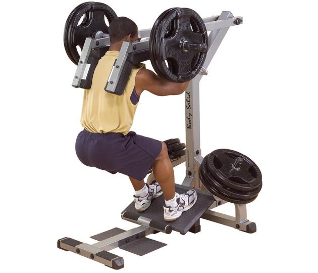 solid calf raise machine